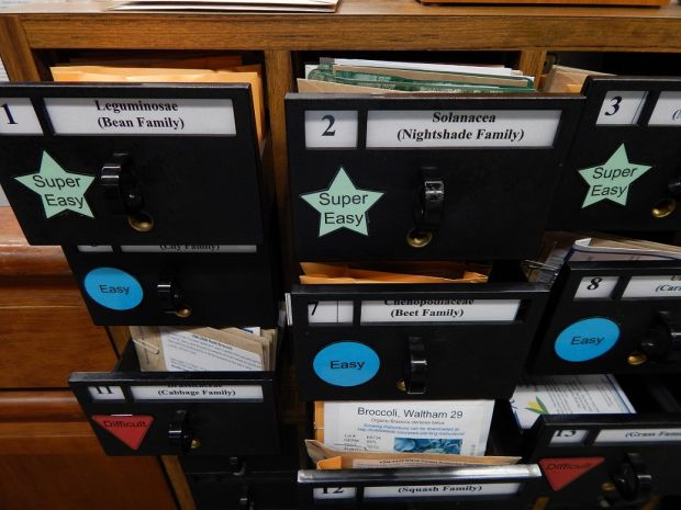 Joseph T. Simpson Public Library's new seed library