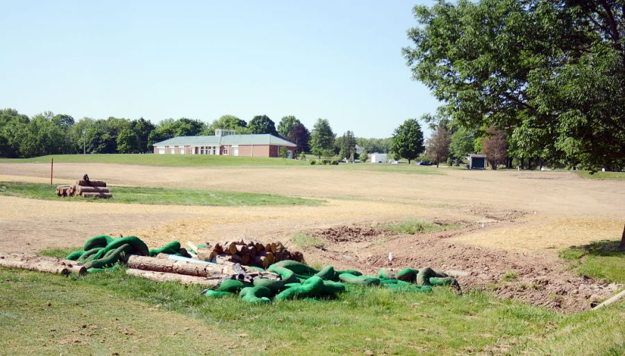 Golfers irked by stalled creek restoration project   News     Bucknell Golf Course