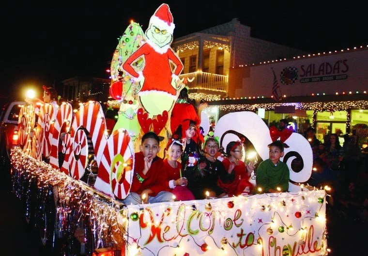 Holiday Lighted Parade And Courthouse Lighting Ceremony