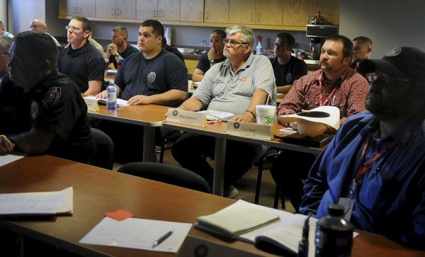 Area law enforcement officers receive specialized training ...