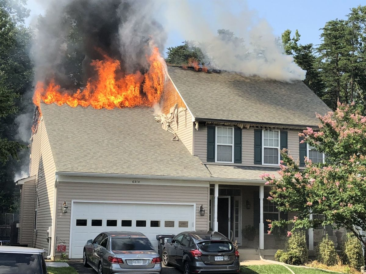 Five escape Spotsylvania house fire sparked by discarded ...