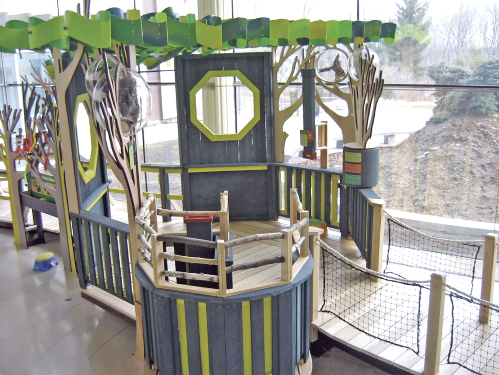 Chickasaw Cultural Center tree house exhibit presents special     Chickasaw Cultural Center tree house exhibit