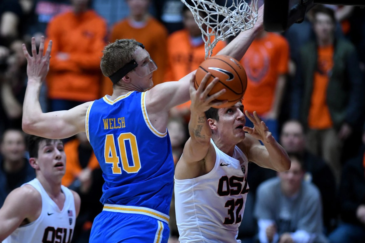 OSU men's basketball: Beavers hold off Bruins for bounce ...