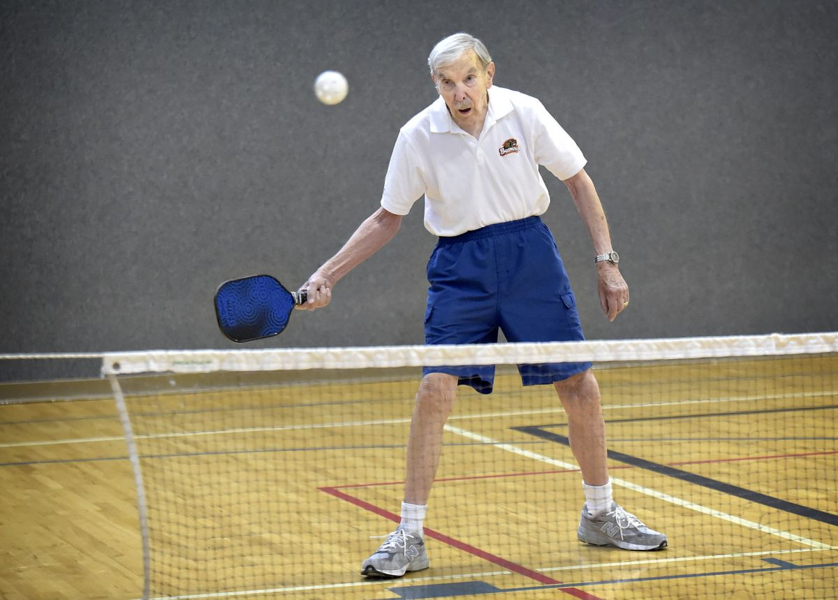 88-year-old keeps active with pickleball | Local ...