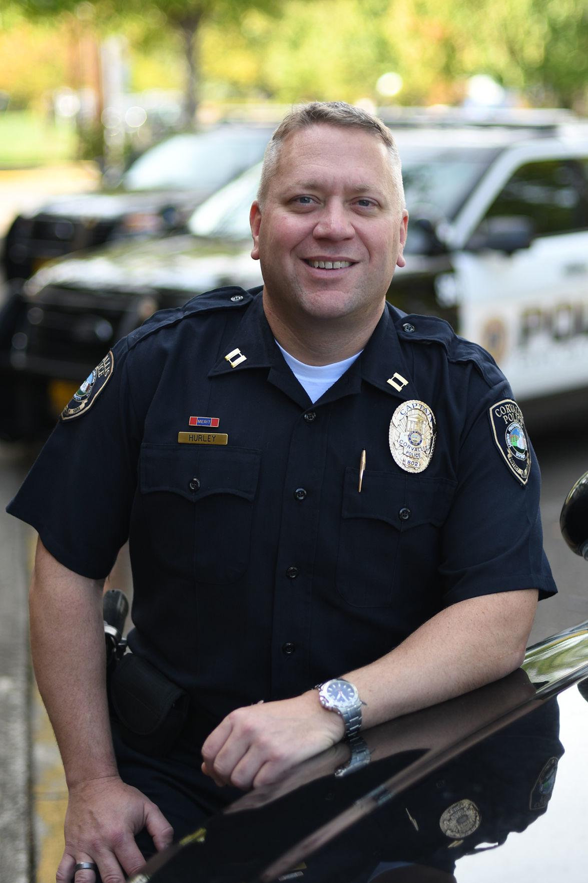 The Police Teacher Corvallis Police Captain Combines