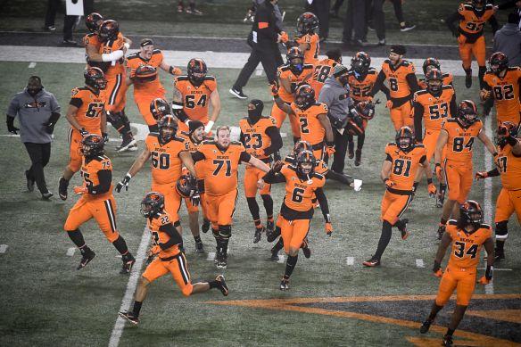 OSU football: OSU football: 5 takeaways from Beavers' win over Oregon |  Football | gazettetimes.com