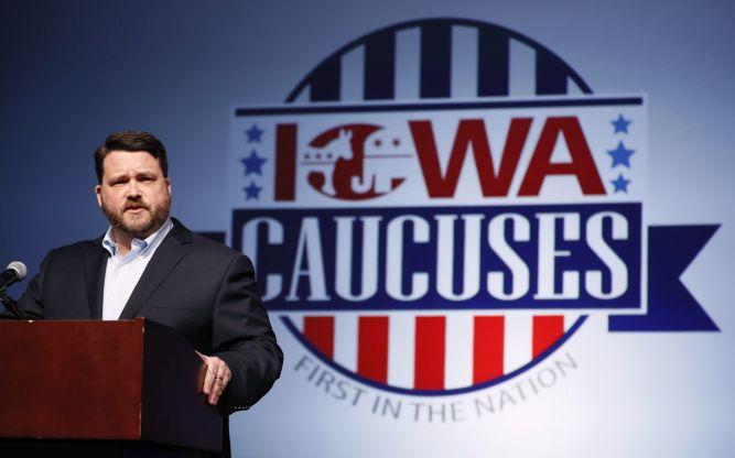 Image result for dem caucus in IOWA?