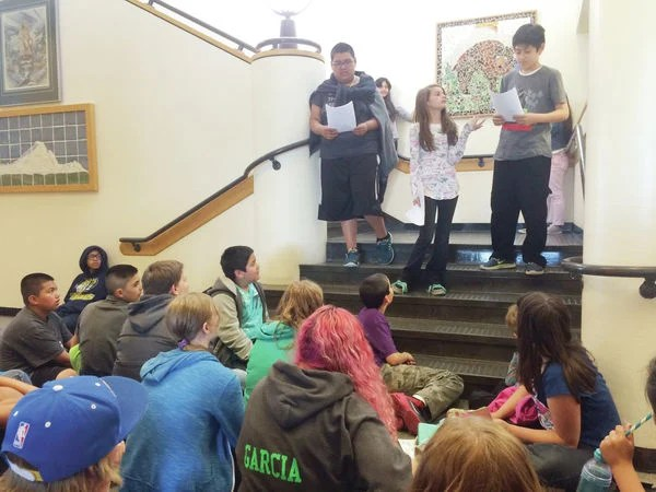 Art students create, present mosaic to Mount Baker Middle ...