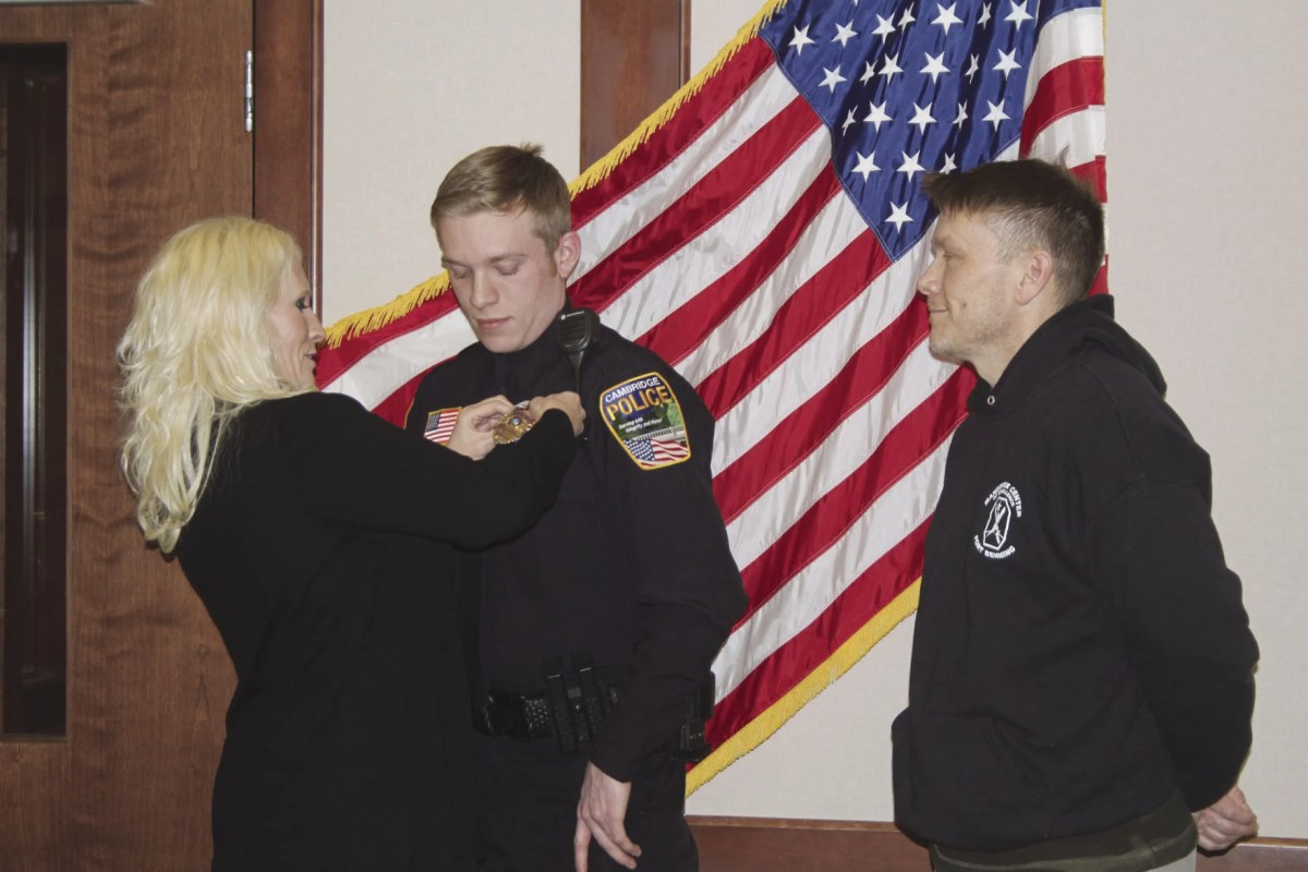 Tanner Hagen joins Cambridge Police Department | Free ...