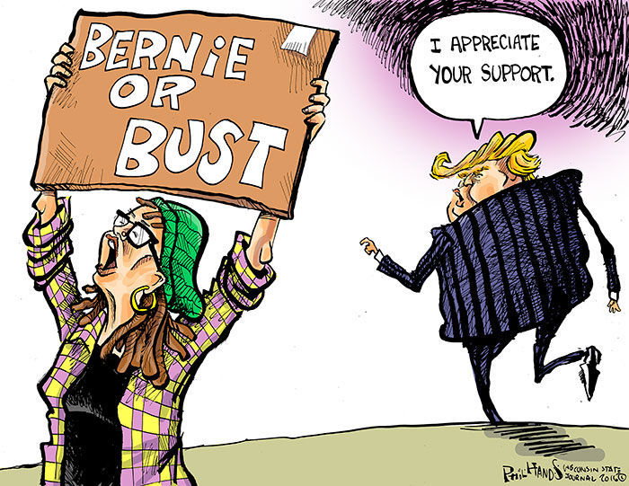 Image result for bernie or bust