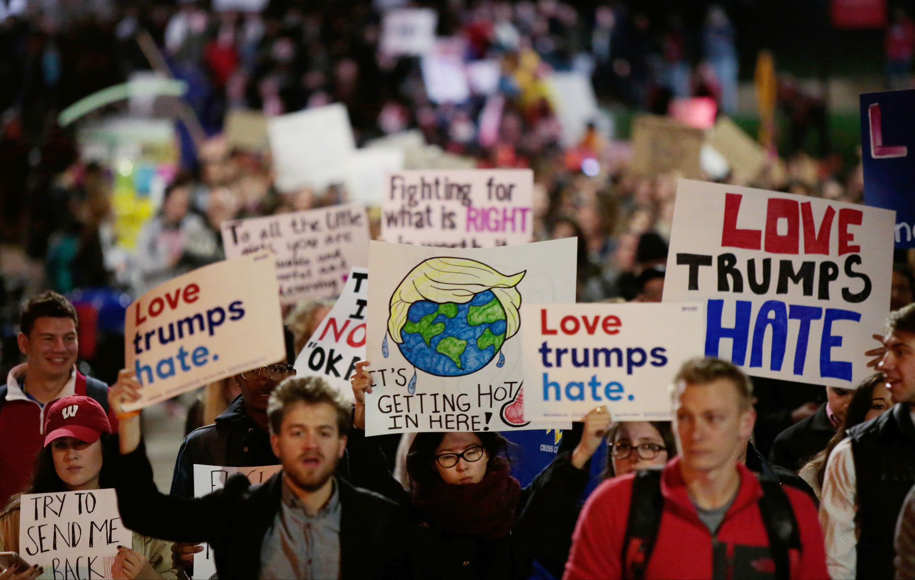 Image result for anti trump protests