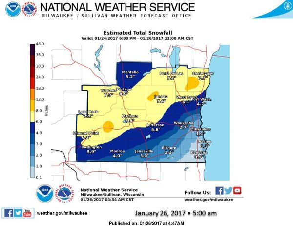 Quiet weather follows storm Local weather hostmadisoncom