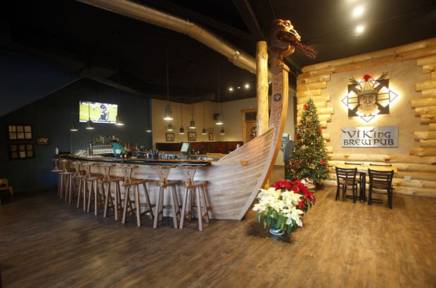 Viking Brew Pub Settling In As A Stoughton Pioneer