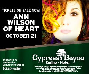 Cypress Bayou (Ann Wilson) - Newsletter Ad
