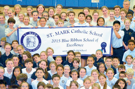 Students at Vienna school celebrate Blue Ribbon status ...
