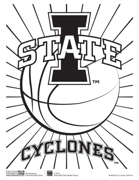 Tuesday coloring pages multimedia iowastatedailycom, football field coloring sheet
