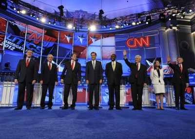 Patriot Act, security prompt GOP sparring in CNN national ...