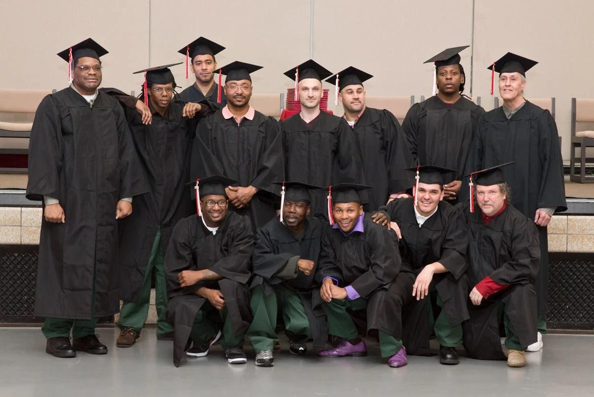 Graduation Day For Auburn Prison Inmates News