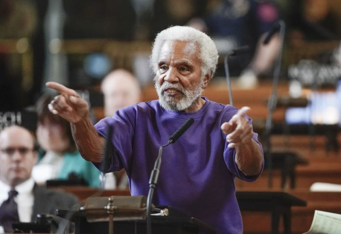 Image result for ernie chambers sued God