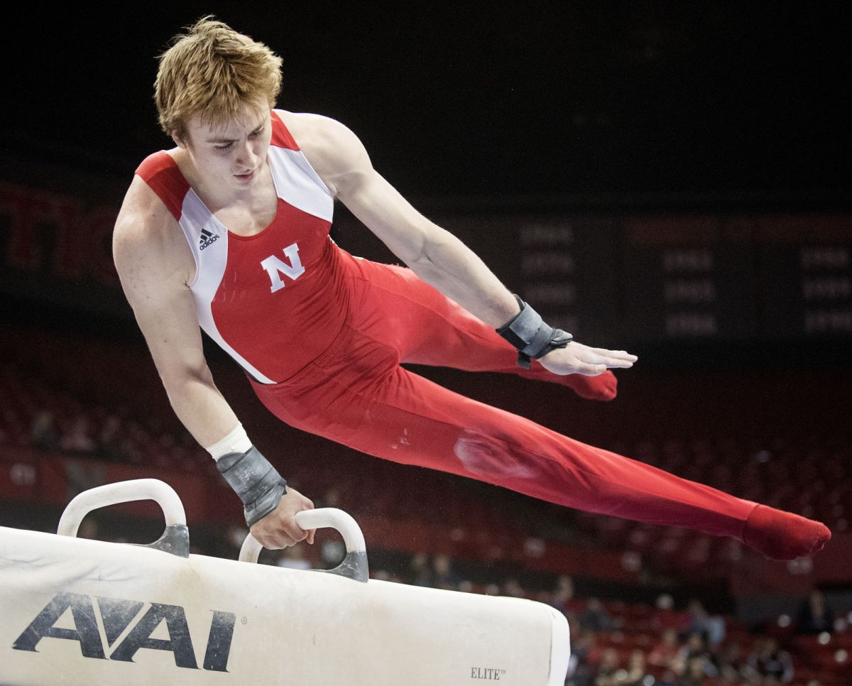 Despite dual loss to Gophers, Husker men show some bounce ...
