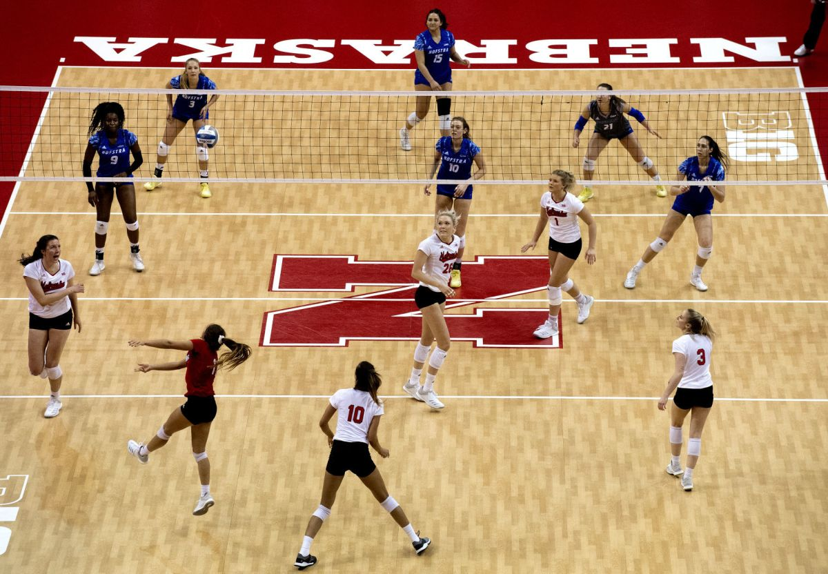 Stivrins stars as Nebraska volleyball team sweeps into ...