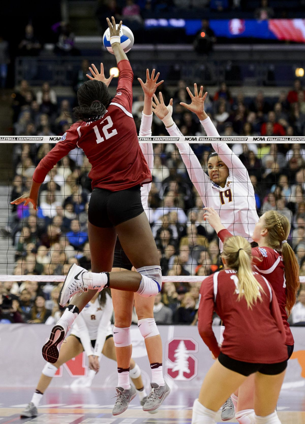 NCAA Final Four: Stanford rises above No. 1 Minnesota ...