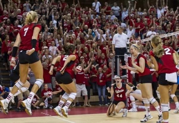 Nebraska volleyball team knocks off No. 1 UCLA : Latest ...