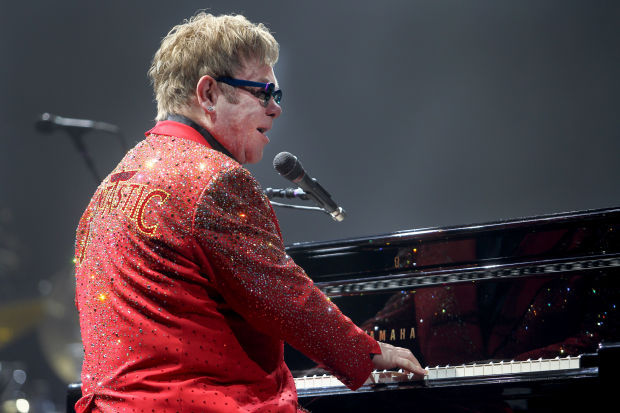 Elton in 2013