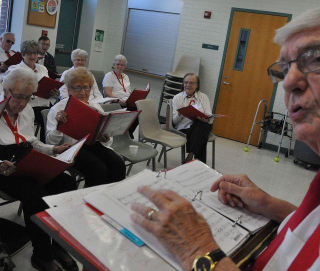 Lincoln Senior Chorus Celebrates  Years Of Spreading Song And Joy