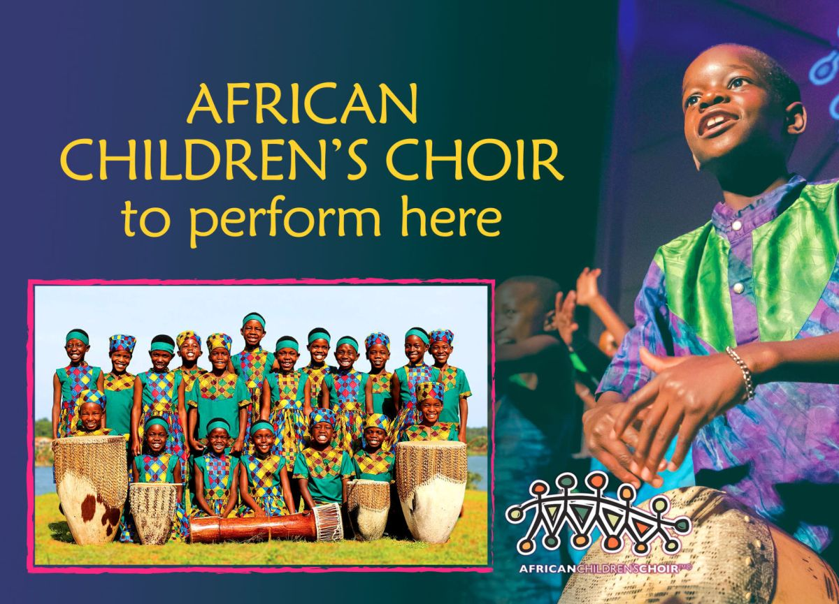 African Children's Choir to perform here on Sunday ...