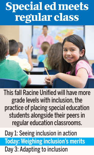 Finally on track -- Inclusion of special education kids in ...