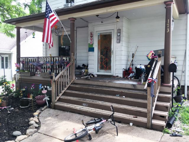 House at 173 W. State St. in Burlington causing furor in neighborhood
