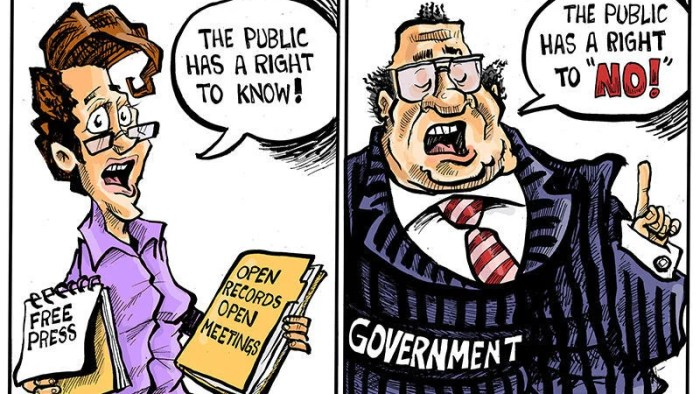 Hands on Wisconsin: Free press protects the public's right to know | Opinion | Cartoon | madison.com