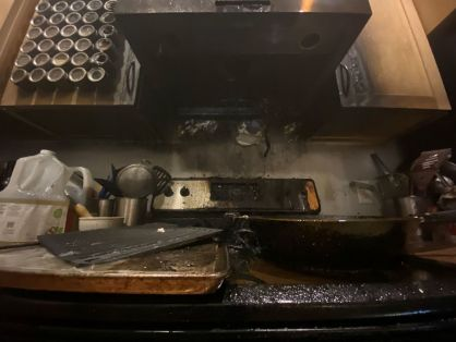 Kitchen fire causes at least $10,000 damage, but sprinkler system minimized damage, by Ed Treleven, Wisconsin State Journal (image)