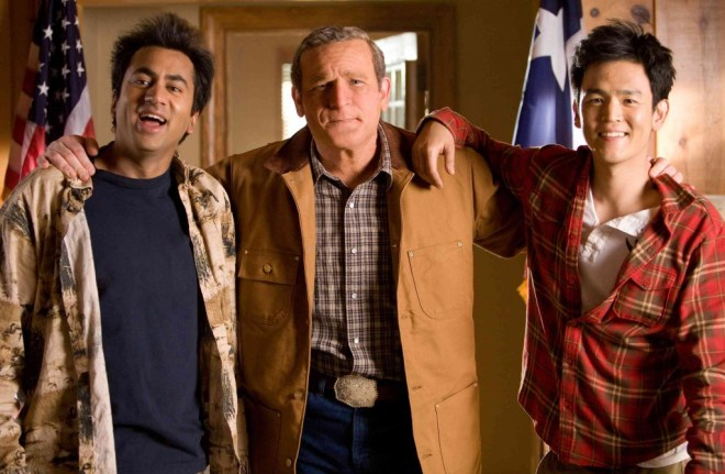 James Adomian as President George W. Bush in Harold and Kumar Escape From  Guantanamo Bay | | madison.com