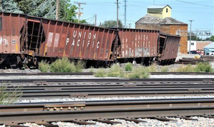 Union Pacific Train Derails In Southeast Idaho