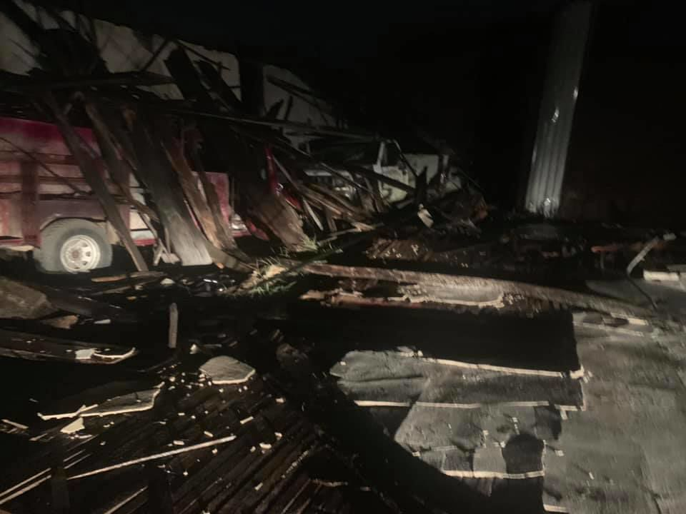 Damage Reported In McAlester Following Severe Storm News