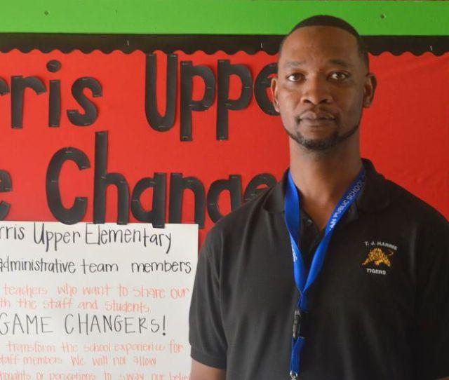 Jeffrey Blackmon A Game Changer As New Principal At T J Harris Upper Elementary