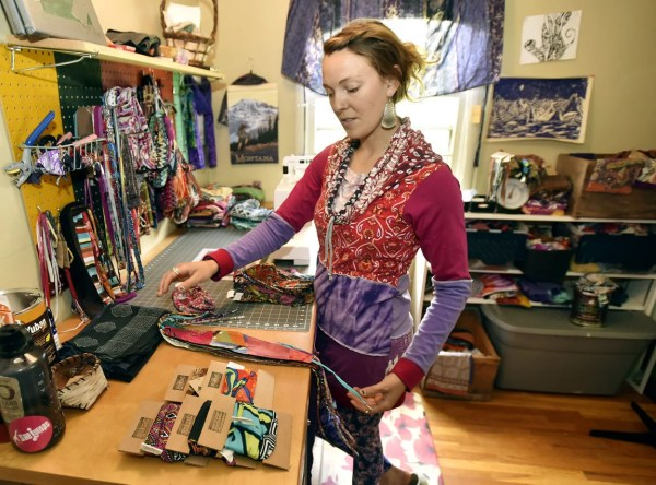 Internet allows local artist to sell upcycled clothing ...