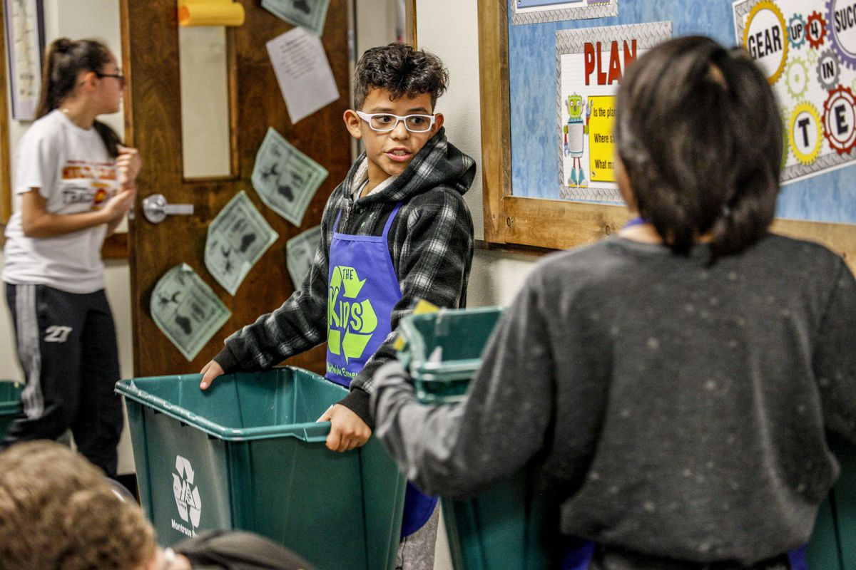 Leadership through recycling   Local News Stories ...