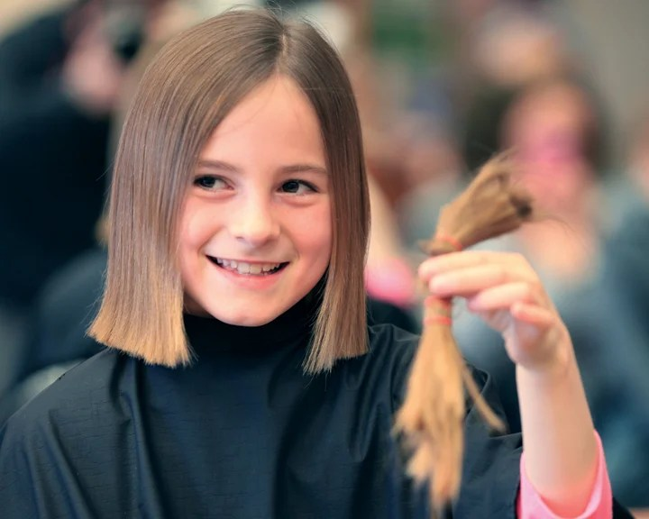 Underwood Girl Donates Hair To Locks Of Love Local News