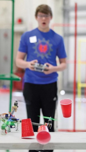 Public invited to check out quadcopters, Google Street exhibits