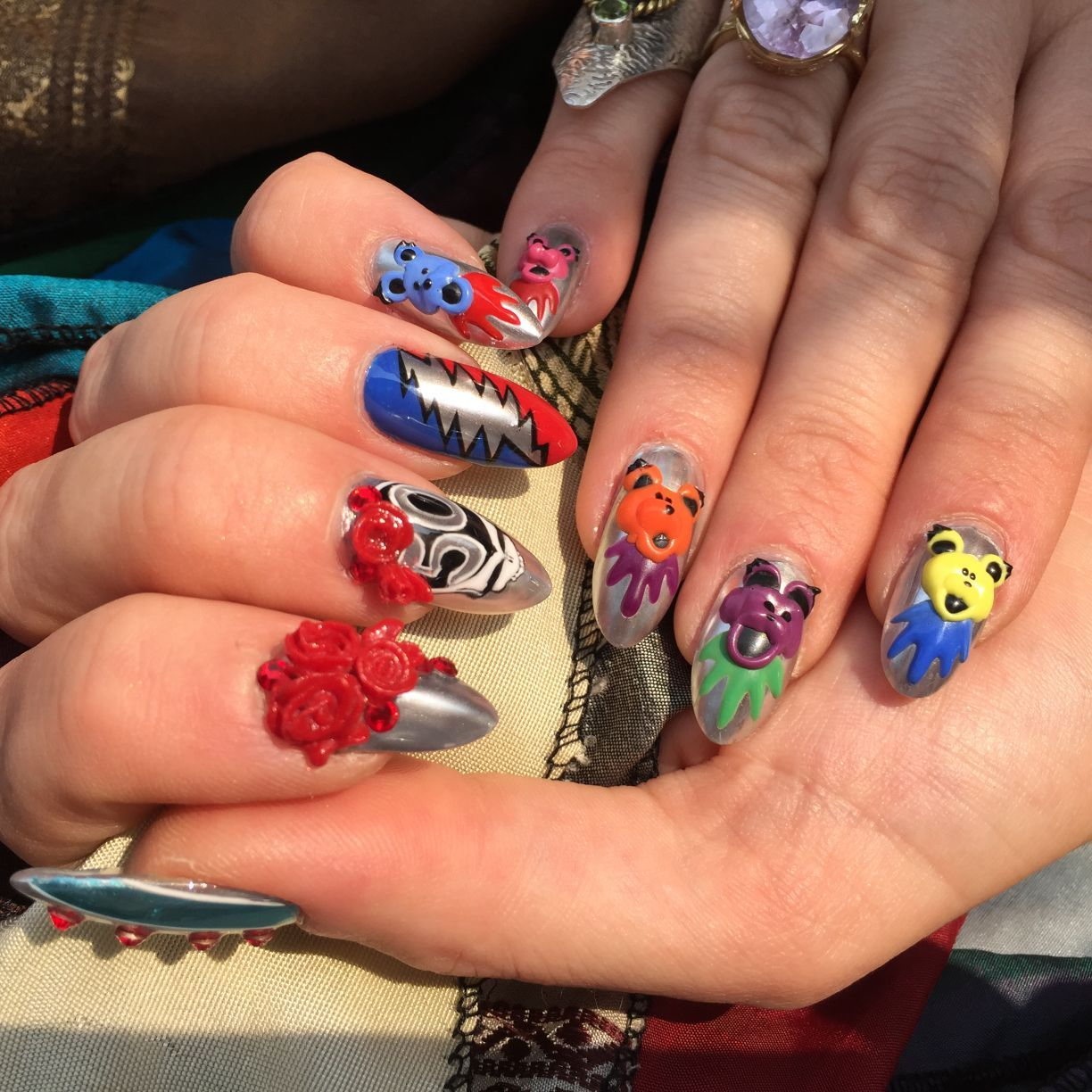 At Her Fingertips Crown Point Nail Salon Artist Taps Talent For Gems And Fine Designs Lifestyles Nwitimes