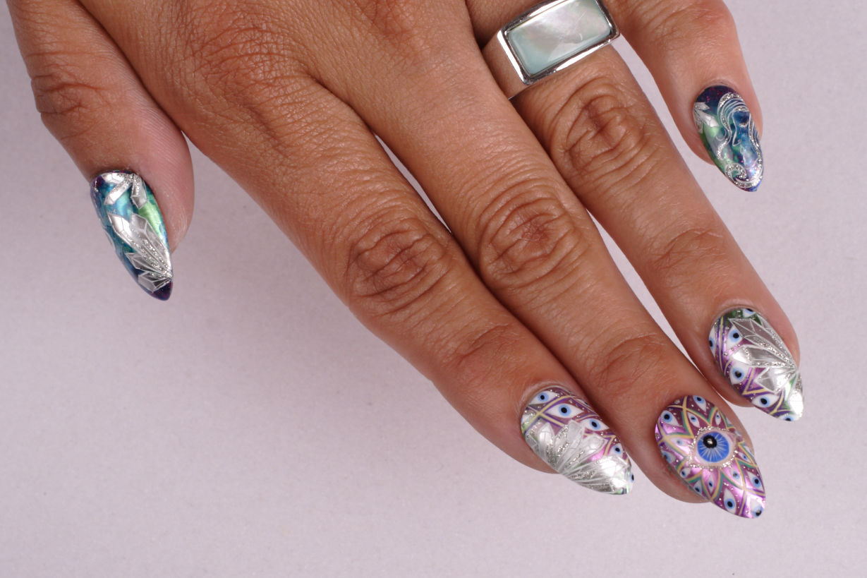 Crown Point Nail Salon Artist Taps Talent Health Beauty Nwitimes