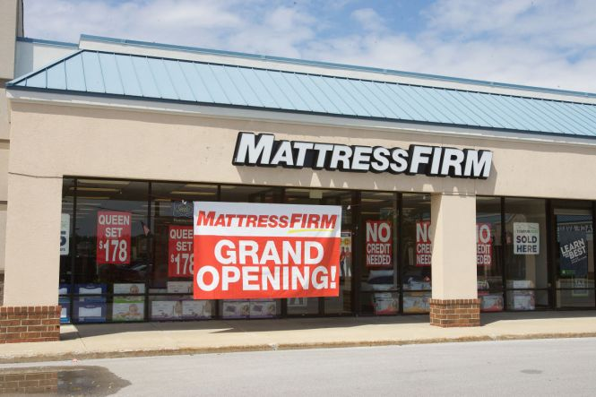 Mattress Firm Now Has Five S Less Than A Mile Apart