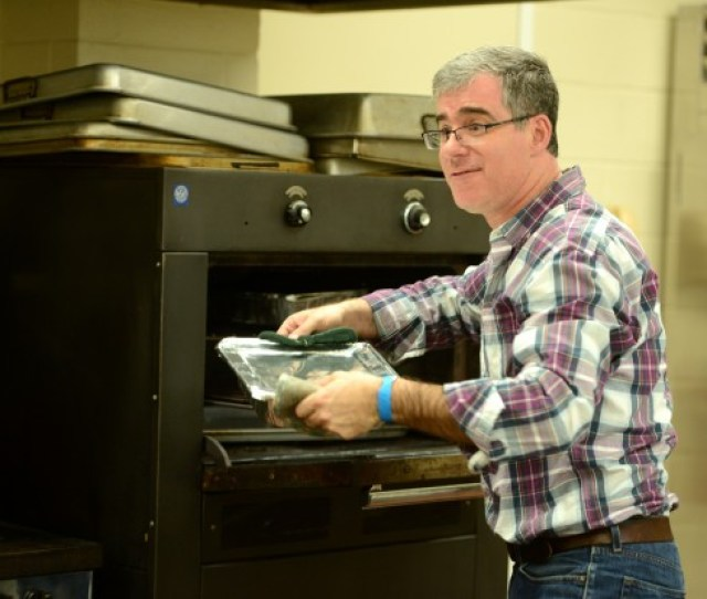 From The Oven During The Second Annual Latkes Festival At Temple Beth El In Glens Falls Sunday Shawn Lachapelle Special To The Post Star