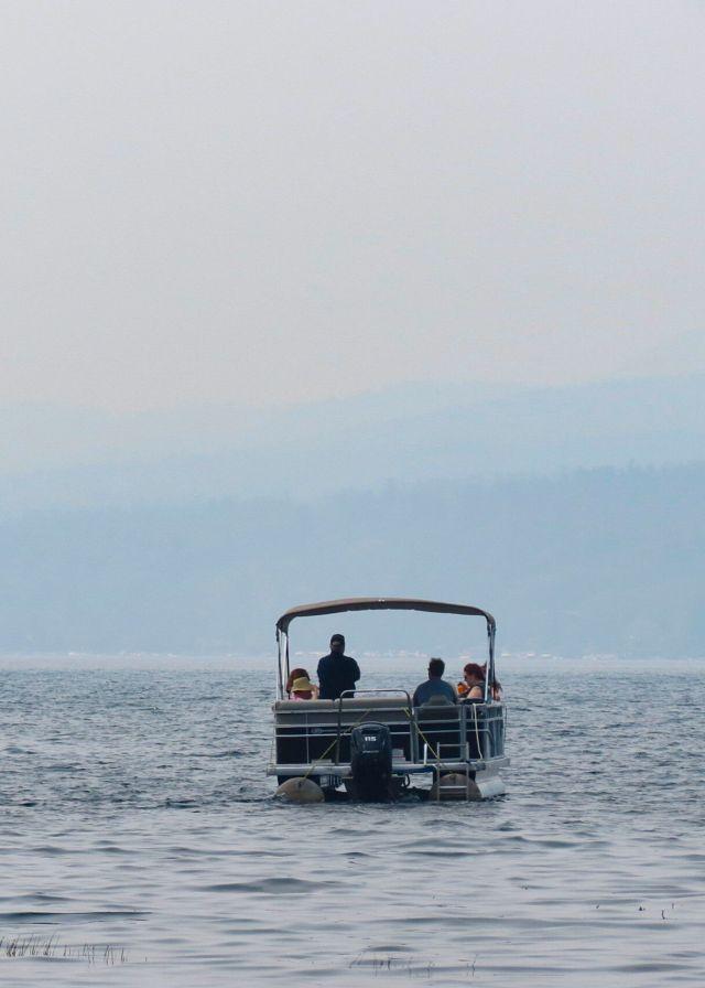 Lake George haze
