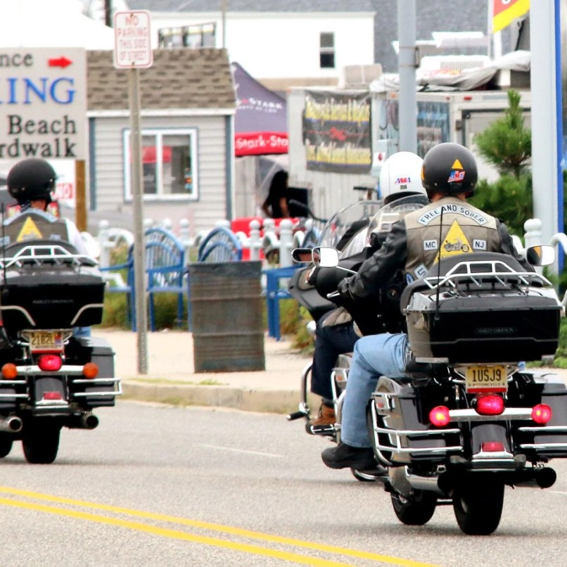 Motorcycle Rally Keeps Summer Hot In