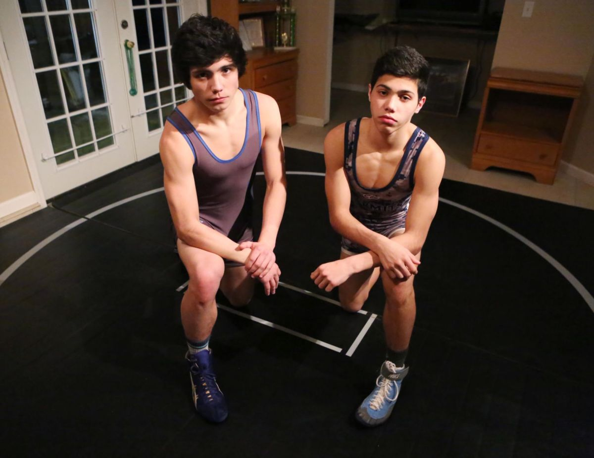 Wrestling Kraus Brothers Learn From Each Other While