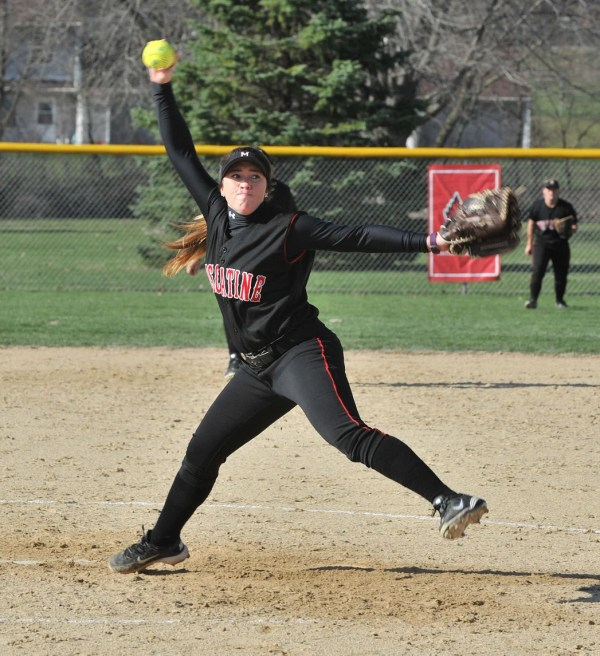 MCC softball fights uphill battle in losses to Rock Valley ...